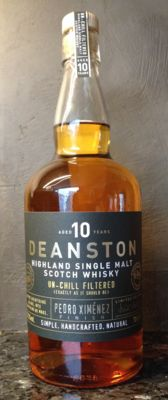 Deanston 2006 - 10 years old - Pedro Ximénez Finish
