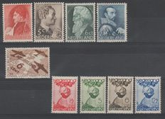 The Netherlands 1935 – Complete year – NVPH 274 up to 282