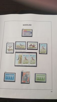 The Netherlands 1982/2001 - Collection of stamps in 2 Davo albums and stamp folders in 5 albums