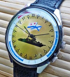 RAKETA 021 MILITARY - men's watch from the 1980s