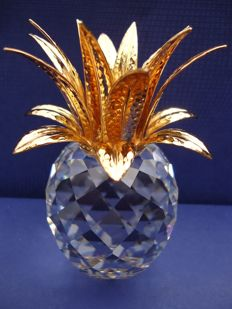 Swarovski - Golden Pineapple Candlestick.