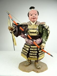 Samurai doll - Japan - Taisho period - first half 20th century