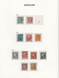 The Netherlands 1852/1969 – Collection in 2 Davo albums