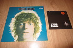 David Bowie - Man of Words/Man of Music Exclusive Vinyl LP Groninger Museum (sealed) + Single David Bowie - Amsterdam (sealed)
