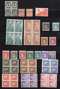 Andorra 1933/99 - 1 lot of around 500 values including a block of 4 values.