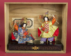 Kabuki butterfly, dancers, Japan, approx. 1912-1926 (Taisho period
