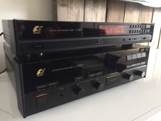 High End Sansui AU X501 and TU X501 Vintage top set amplifier and tuner