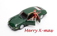 "Matrix Scale Models - Scale 1/43 - Porsche 911 ""Troutman & Barnes"" Sedan 4-doors- Limited 156 pieces. - Colour green"