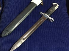 June, 6th 1944 - M1 Bayonet from the American army, 100% authentic (Normandy)