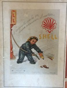 Advertising Sign Shell - 1929