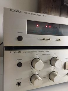 Luxman L114A and T111 vintage top set amplifier and tuner