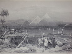 Egypt; James Ewing Cooley - The American in Egypt - 1842