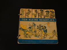 Picture books; Lot with 2 editions of 'Ten small Negro boys' - 1946/1966