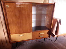 Unknown designer - Display bar cabinet with 3 doors and 2 drawers