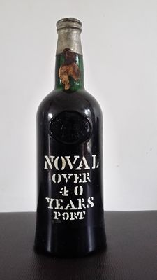 Over 40 years old Tawny Port Noval - bottled in 1972