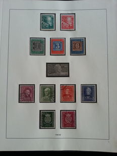 Federal Republic of Germany 1949/1968 - collection in 41 pages safe album no.13