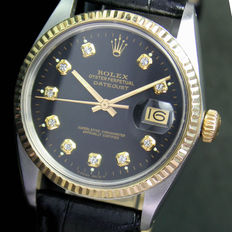 Rolex Oyster Perpetual DateJust Steel Gold Ref# 16013