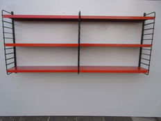 Designer unknown - Double wall shelves/bookshelves