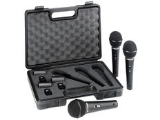 KIT WITH 3 CARDIOID DYNAMIC MICROPHONES - BEHRINGER