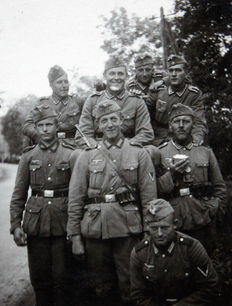 Lot of 40 photos - (Einsatz Russia) - (from one person) - 1940/1941.- WWII -