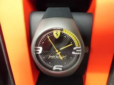 Ferrari Pit Stop, black – men's wristwatch