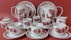Ilmenau Porcelain coffee service for 6