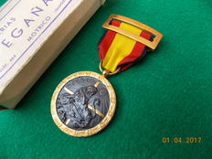 Campaign Medal Civil War 1936-1939