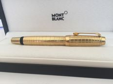Montblanc Boheme Citrin rollerball plaid gold plated