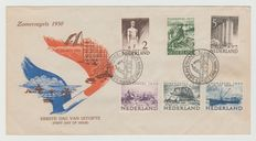 The Netherlands 1950 - FDC Summer - NVPH E1, with inspection certificate