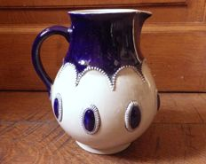 CRM - ceramic pitcher signed and numbered
