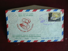 Netherlands Antilles 1957/1985 - Collection of FDCs in two albums