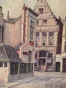 Luc Bracke (20th century) - Old street