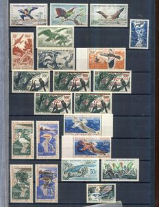 Thematic - Birds, collection of complete sets