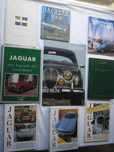 Jaguar lot with books, posters and magazines - 1989/1997