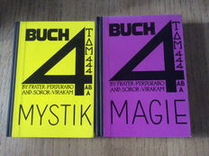 Aleister Crowley, Frater Perdurabo and Soror Virakam - Boek 4 Magick & Buch 4 Mysticism - 2 volumes - 1961