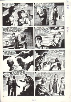 Salvador, Martín - Original page (p.20) - Helgonet 169 (The Saint) - (1984)