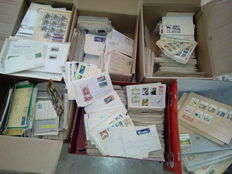 FRG and GDR of East Germany - over 10,000 letters