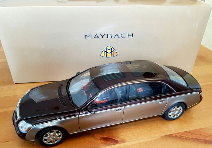 autoart-dealer edition - maßstab 1/18 - maybach 62 - catawiki