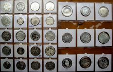 Germany – Collection of medals 1971/2001 (29 pieces) – silver