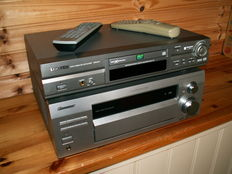 A class 7.1 Tuner/Amplifier: PIONEER VSX-D812 and multichannel DVD/CD player: SAMSUNG DVD 811.