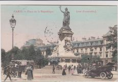 very good lot of 90 old postcards of Paris