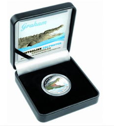 Australia - salt water crocodile Graham 2014 - colour edition + proof - polished plate with box & certificate