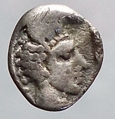 Greek Antiquity - Troas, Kebren. Ca 387-310 BC. AR Obol