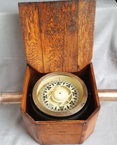 Observator Rotterdam - antique very large compass made for Summers & Payne (Southampton)