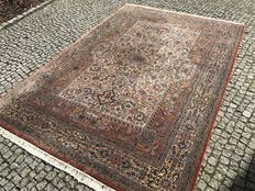 Indo Ghoum Perfect Orient Rug 300x200cm -hand knotted - Look likes new