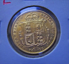 Great Britain - ½ Sovereign 1892 - Victoria - Gold