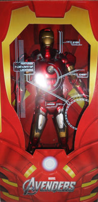 "NECA Avengers Iron Man 18"" Action Figure 1/4 Scale and NECA Gipsy Danger Jaeger Pacific Rim 18"" Action figure series 1"
