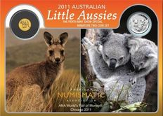 Australia: Little Aussies 2011, Special Coin Set WMF Chicago 2011, Limited Edition of 2000 Pieces