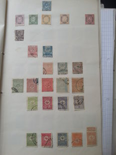 Turkey and Cyprus - collection on sheets starting from classic.