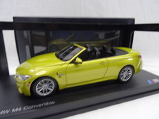 Paragon - Scale 1/18 - BMW M4 Convertible - Colour Austin Yellow